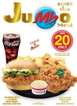 Marrybrown Jumbo Meal Promo