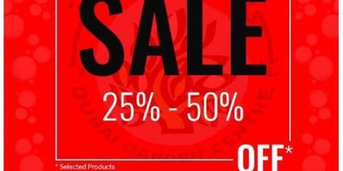 Dubai Garden Centre Part Sale Offers