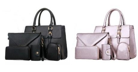 Five-Piece Women's Handbag Set