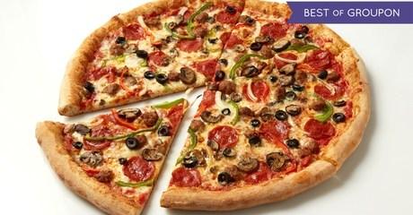 Choice of Pizza at Sbarro