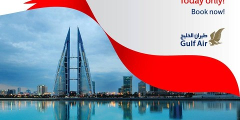 Gulf Air exclusive 45% off flights for 45th National Day milestone