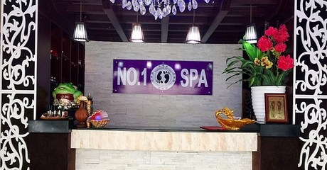 One-Hour Foot Spa Therapy