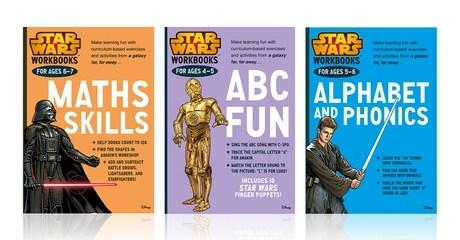 Star Wars Workbooks for Kids