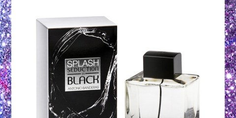 Antonio Banderas Splash in Black Men 100ml