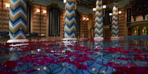 Burj Al Arab Romantic Moonlight Swim Offer