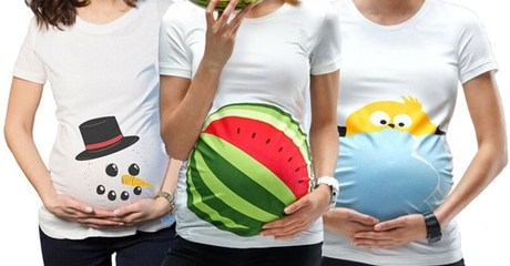 Novelty Maternity T-Shirts
