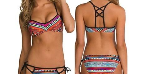 Tribal Print Bikinis