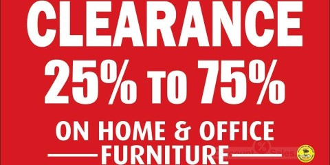 Marlin Furniture Clearance Sale Offer