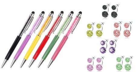 Pen and Earrings Gift Set