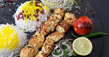 Persian Kabab Meal