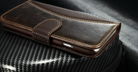Two Leather Cases for iPhone