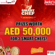 Be one of the 3 Smart Chefs @ Jacky's