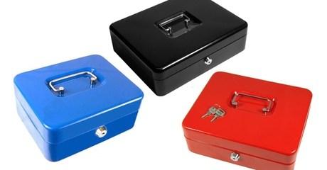 China Unicom Metal Cash Boxes