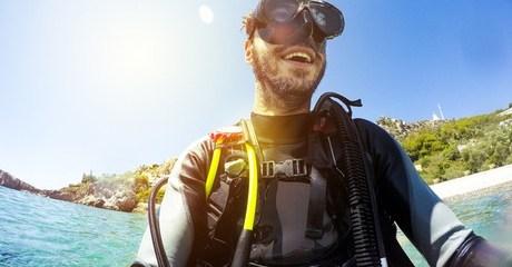 PADI Scuba Diver or Open Water Course