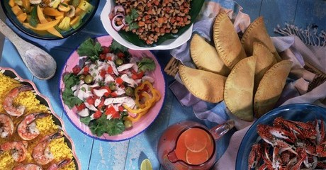 Three-Course Colombian Meal
