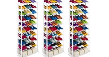 30-Pair Shoe Organiser