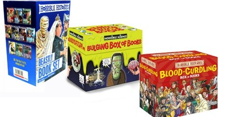 Horrible Histories Box Set