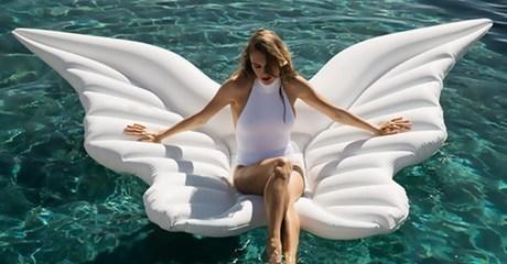 Inflatable Wings Pool Float