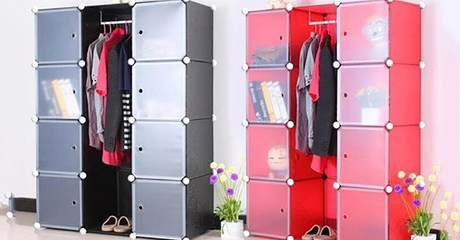 Adjustable Modular Storage Cabinet