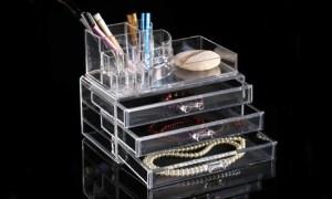 Acrylic Cosmetics Organiser