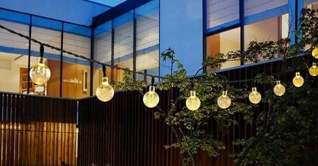 Outdoor Globe String Lights