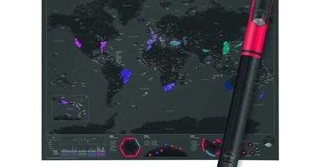 Scratch My City Capital Cities Map