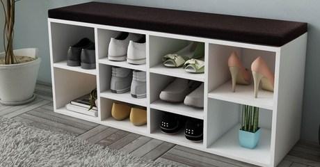 Siena Shoe Storage Bench