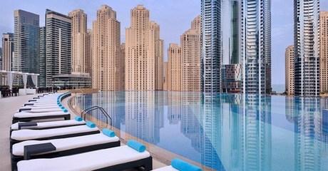 Breakfast at Mazina - The Address Dubai Marina