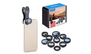 Clip-On Mobile Camera Lens Set