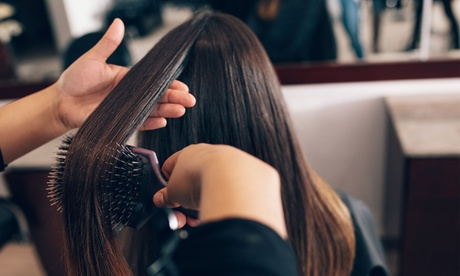 Root Colour and Blow-Dry