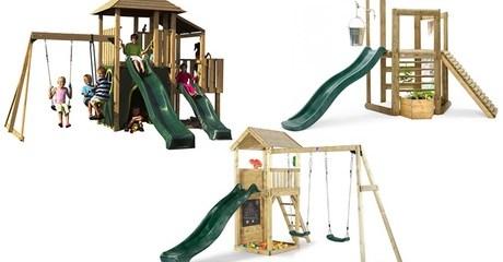 Outdoor Wooden Play Set