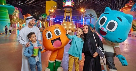 IMG Ticket and Dubai City Tour