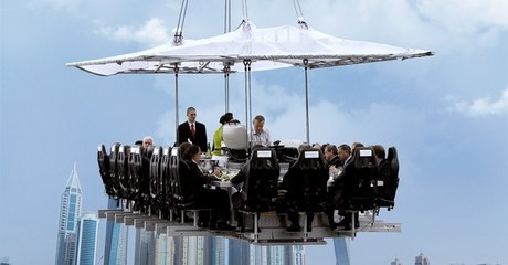 Lunch in the Sky
