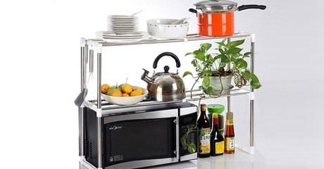 Adjustable Microwave Oven Rack