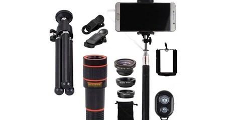 11-Pc Phone Camera Accessory Kit