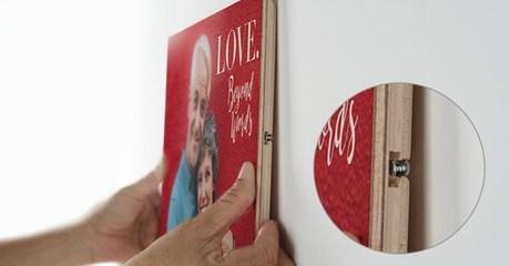 Personalized Wood Photo Print