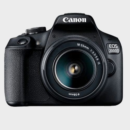 Canon DSLR Camera EOS 2000D 18-55mm IS Lens Price in Qatar Lulu