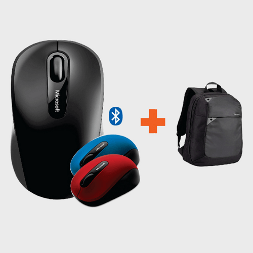 Microsoft Bluetooth Mouse 3600 Assorted Color 1Piece + Targus Backpack in Qatar Lulu