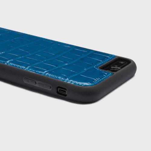 Gold Black iPhone 8 Croco Blue Price in Qatar