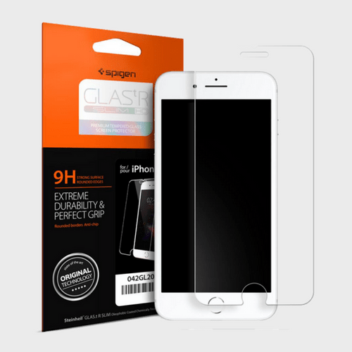 Spigen iPhone 8 Screen Protector GLAS.tR SLIM HD price in Qatar