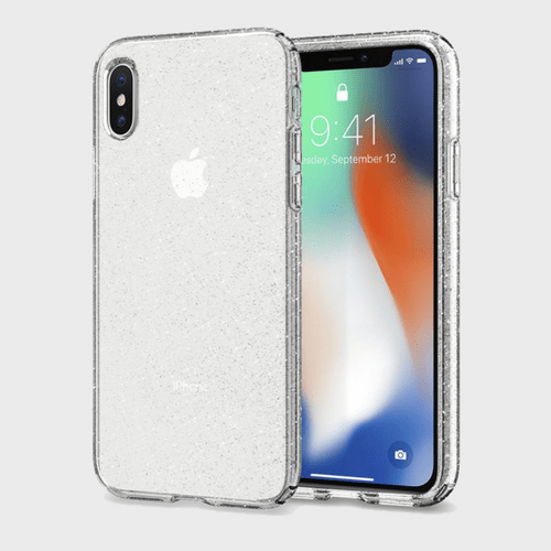 Spigen iPhone X Case Liquid Crystal Glitter price in Qatar