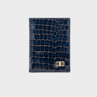 Goldblack Bifold Slim Wallet Milano Blue price in Qatar