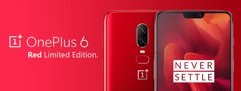 OnePlus 6 Red Limited Edition Qatar
