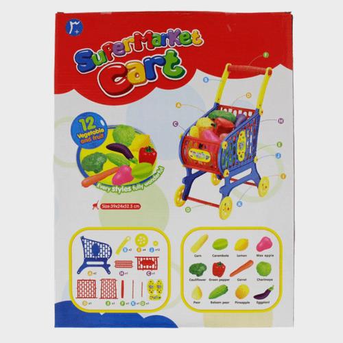 Fabiola Kids Supermarket Cart Toy NF595-5 Assorted Price in Qatar lulu