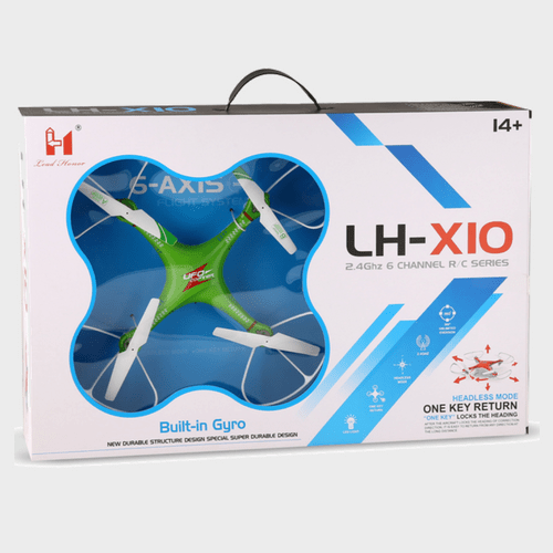 Ufo Drone Quadcopter with 6 Axis Gyro LH-X10 price in Qatar lulu