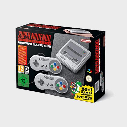 Nintendo Classic Mini: Super Nintendo Entertainment System Price in Qatar Lulu