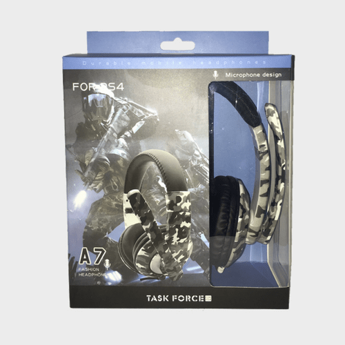 Gaming Headset Task Force A7 for PS4 Price in Qatar Lulu