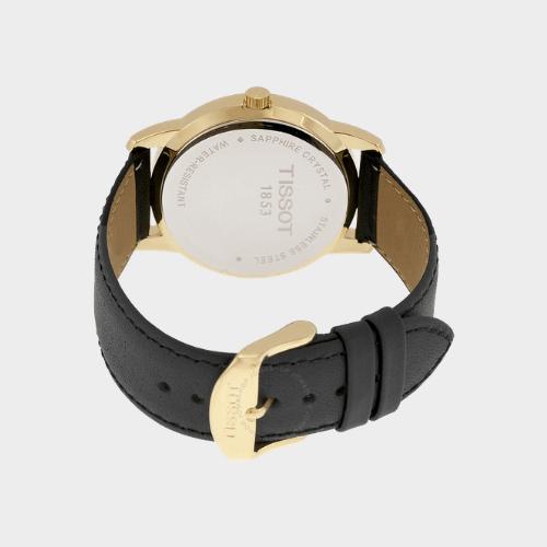 Tissot Classic Dream Black Dial Leather Mens Watch - T0334103605101 Price in Qatar getit