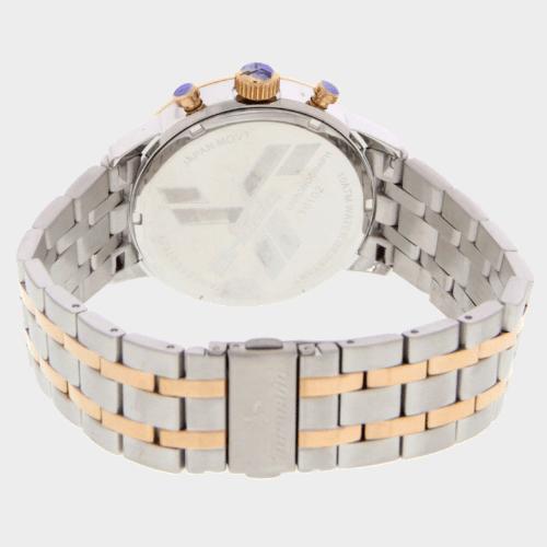 Tornado Men's Chronograph Watch Stainless Steel Two tone Band T6102-RBKSK Price in Qatar lulu