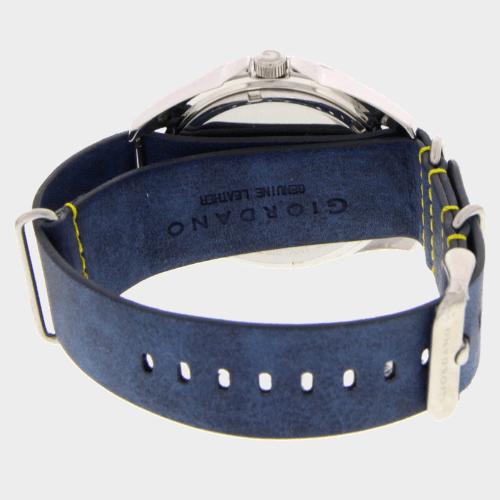 Giordano Men's Analog Watch Blue Strap With Blue Dial 1783-02 price in Qatar lulu